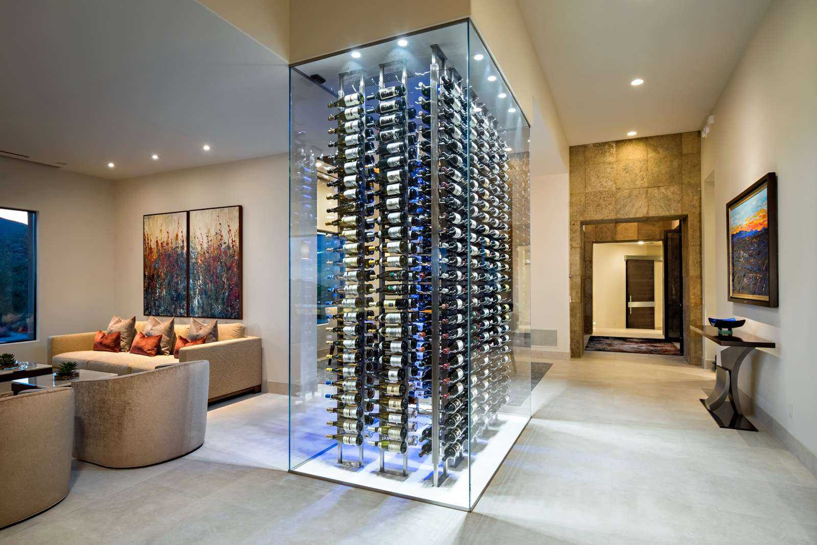 Restaurant Style Wine Cellar In Your Home Heritage Vine Inc